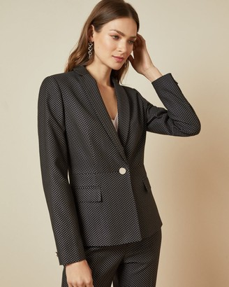 Ted Baker Jacquard Suit Jacket