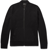 Club Monaco - Ottoman Ribbed Jersey Zip-up Cardigan