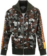 À La Garçonne camouflage hoodie