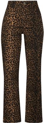 Ksubi Dynamo leopard print jeans