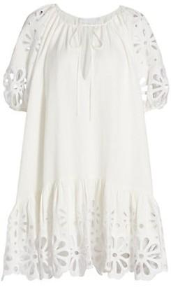 Jonathan Simkhai Evangelina Broderie Anglaise Dress