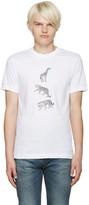 Paul Smith White Three Animals T-Shirt