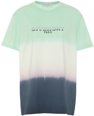 Givenchy Logo ombre cotton T-shirt