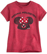 Disney Minnie Mouse Icon Mouseketeer Tee for Girls