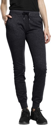 Urban Classics Women's Ladies Athletic Melange Jogpants Sports Pants