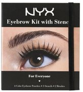 NYX (3 Pack Eyebrow Kit with Stencil - For Everyone