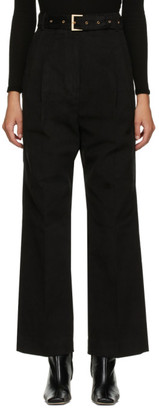 DRAE Black Belted Trousers