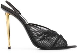 Tom Ford Mesh Slingback Sandals
