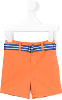 Ralph Lauren belted shorts - kids - Cotton/Spandex/Elastane - 9 mth