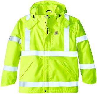 Carhartt Men's Big & Tall High Vis Class 3 Waterproof Jacket