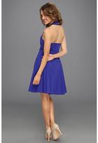 Jessica Simpson Racer Front Halter Dress