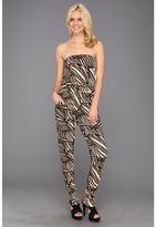Rachel Pally Lennon Jumpsuit Print (Black Ray) - Apparel