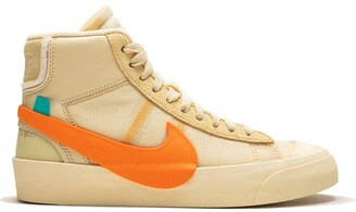 """Nike x Off-White The 10: Blazer Mid """"All Hallows Eve"""" sneakers"""