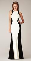 Mignon CC316 Two Tone Halter Neck Sheath Dress