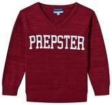 Andy & Evan Maroon Prepster Sweatshirt