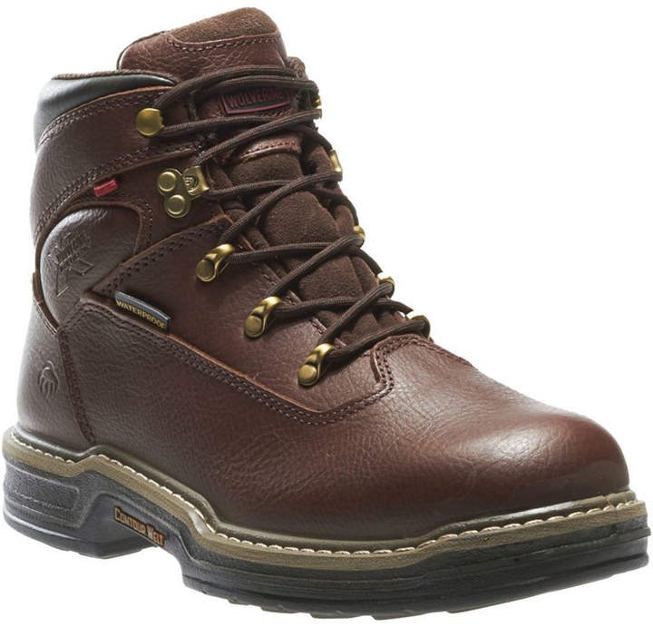 0e715efdb50 Mens Buccaneer Lace Up Waterproof Slip Resistant Work Boots