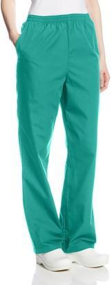 Cherokee Women's Workwear Scrubs Pull-On Pant - Blue - X-L Tall