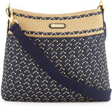 Eric Javits Escape Squishee® Crossbody Pouch Bag, Navy/Mix