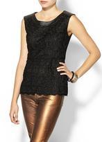 Juicy Couture C.Luce Lace Peplum Blouse