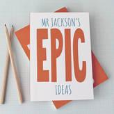 Sukie Personalised Epic Notebook