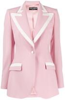 Dolce & Gabbana Lined Collar Blazer