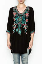 Johnny Was Zivelly Embroidered Tunic