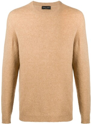 Roberto Collina Textured Crew-Neck Jumper