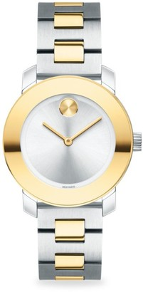 Movado BOLD Two-Tone Stainless Steel Bracelet Watch