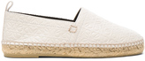 Loewe Leather All Over Repeat Espadrilles