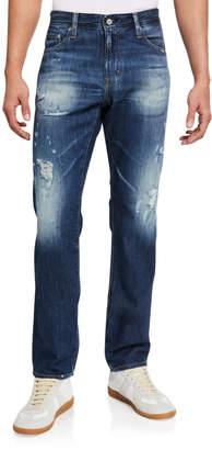 AG Adriano Goldschmied Men's Matchbox Slim Straight Jeans