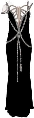 Marchesa Embellished Velvet Gown