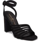 Chinese Laundry Jonah Square Toe Angled Strap Block Heel Sandal