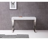 Yaretzi Credenza desk Orren Ellis Color (Top): White
