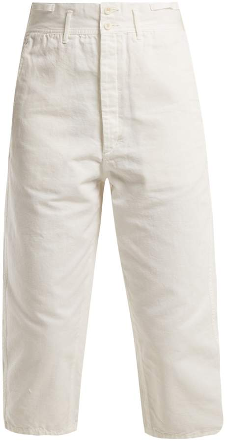Chimala Farmer's Work cotton cropped trousers