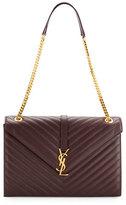 Saint Laurent Monogram Large Kate Chain Shoulder Bag, Bordeaux