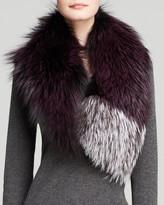 Maximilian Fox Fur Collar - Bloomingdale's Exclusive