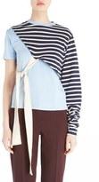 Jacquemus 'Le T-Shirt Noué' Asymmetrical Tee