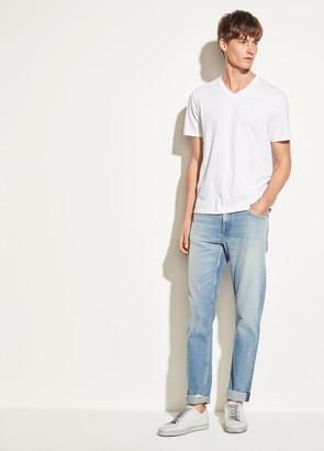 Vince Slub Cotton V-neck T-shirt