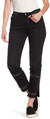 Frame Le High Straight Studded Jeans (Regular & Plus Size)