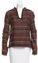 Tory Burch Long Sleeve Pattened Tunic