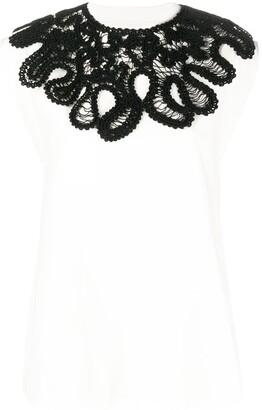 Jil Sander Detachable Knit-Necklace Top