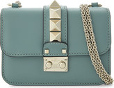 Valentino Rockstud lock mini leather shoulder bag