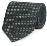 Drakes Drake ' S Floral print silk tie