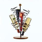 Mikasa Gourmet Basics Spiral 6 Bottle Wire Wine Rack