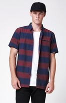 Tavik Shin Striped Short Sleeve Button Up Shirt