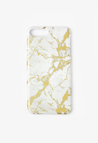 Missguided White Marble Foil iPhone 7 Case