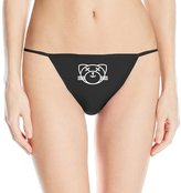 Christina Women's Kiss Land Cat XO The Weeknd Logo Thong Underwear