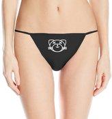 Christina Women's Kiss Land Cat XO The Weeknd Logo Thong Underwear