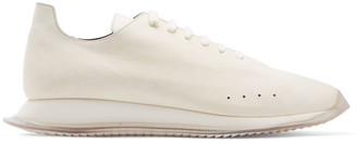 Rick Owens Off-White New Minimal Runner Sneakers