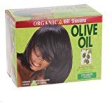 Organic Root Stimulator Olive Oil No Lye Relaxer Kit, Extra Strength by